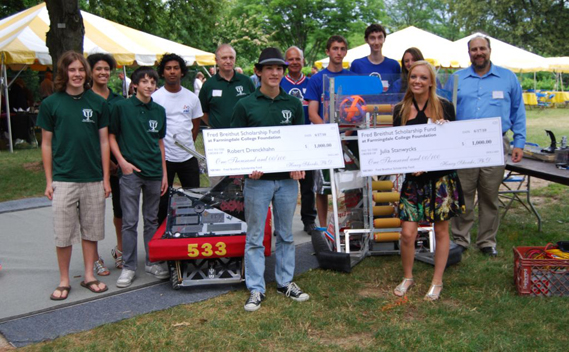 Fred Breithut Scholarship Winners Announced at SBPLI's Robots and Roses Reception