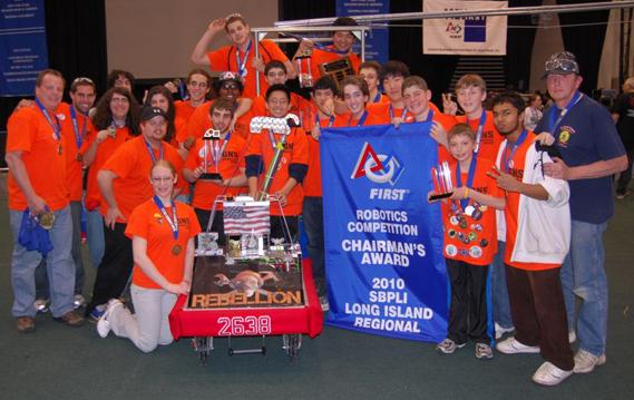 Seven Long Island Teams Head to Atlanta for FIRST 2010 Championship
