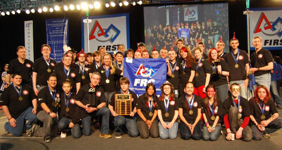 Six Long Island Teams Head to St. Louis for FIRST 2011 Championship and World Festival
