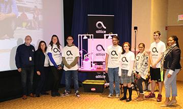 School-Business Partnerships of Long Island - Sponsor - Altice - Student Event - Career Event
