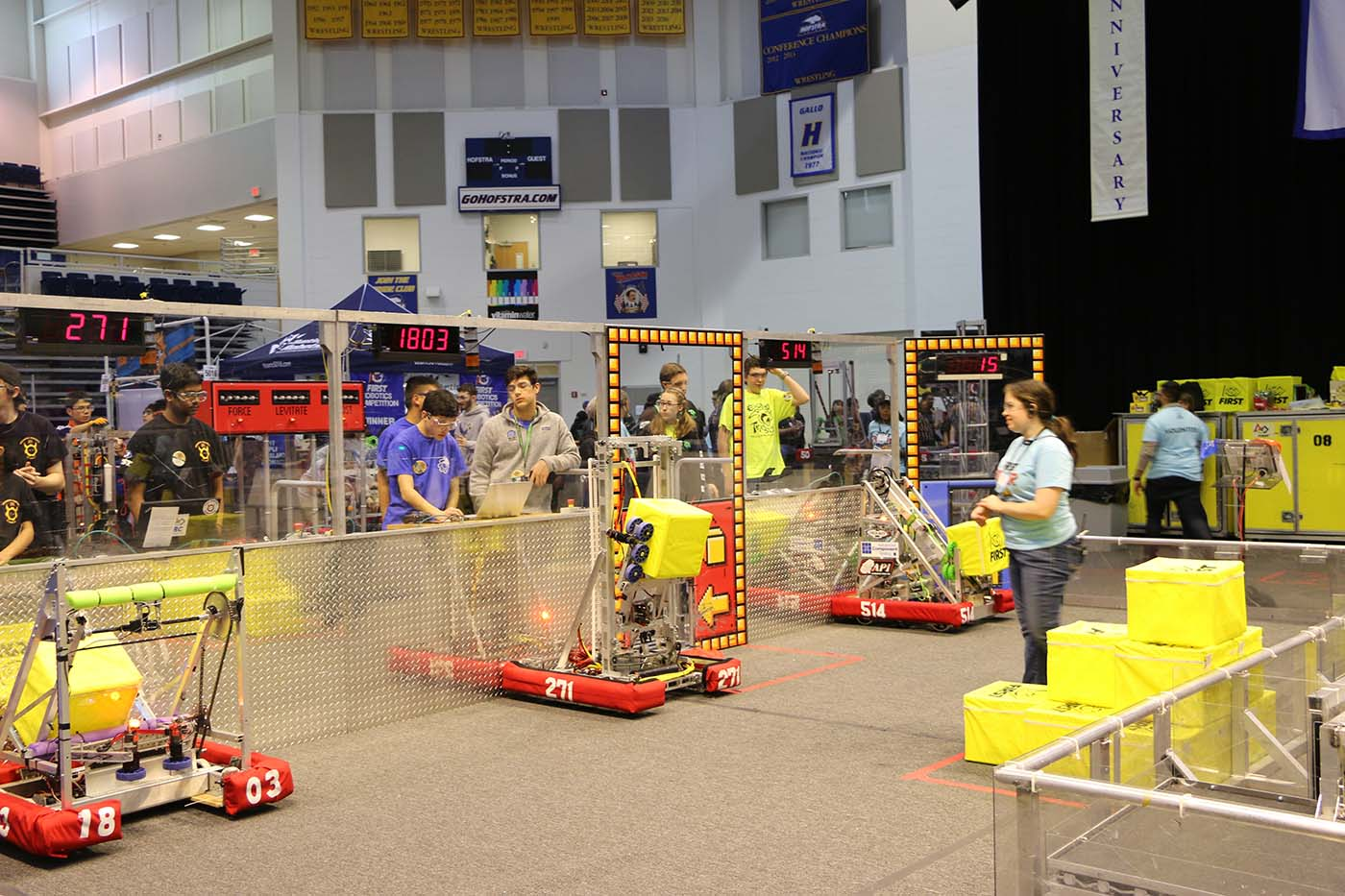 FIRST Robotics Competition Kick Off