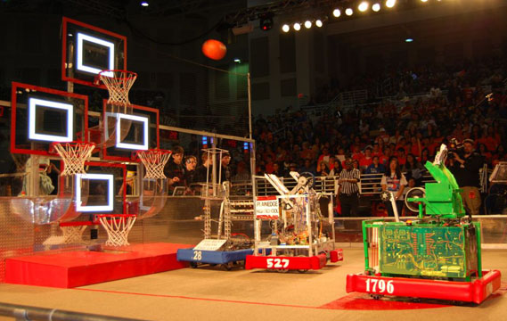 Award Winners at 13th Annual Long Island Regional FIRST Robotics Competition