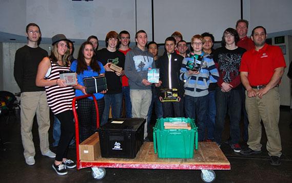 LI FIRST Robotics Competition Kicks Off to a Great Start