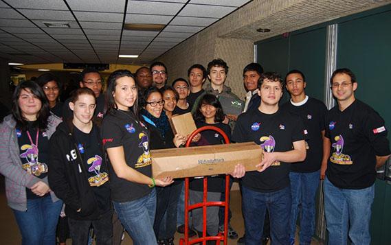 LI Robotics Competition Kicks Off to a Great Start