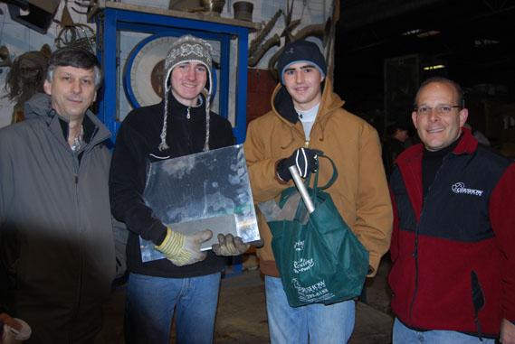 Gershow Recycling Donates Aluminum Scrap to Local High School Robotics Team