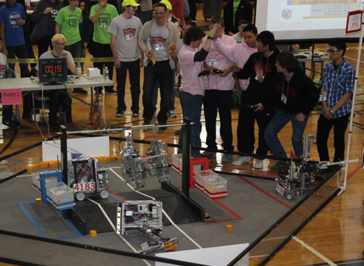 Winners Announced At FIRST Tech Challenge Qualifying Tournament