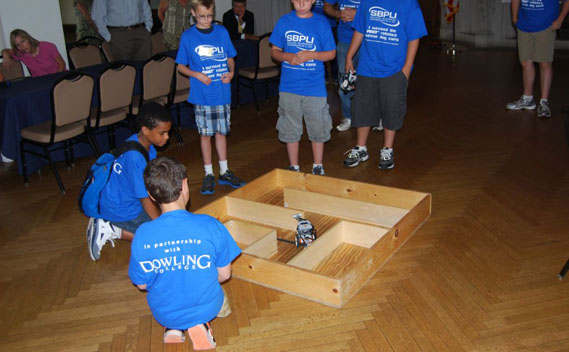 A Summer of Fun and Learning at School-Business Partnerships of Long Island's FIRST Robotics Summer Day Camp