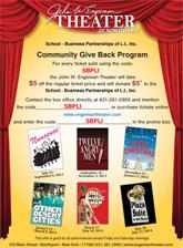 John W. Engeman Theater Supports SBPLI during Its 2013-2014 Season