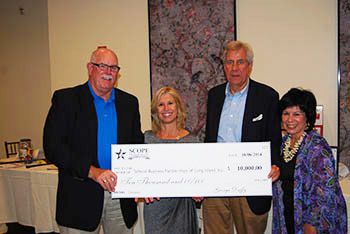 SBPLI Receives $10,000 Donation from SCOPE Education Services