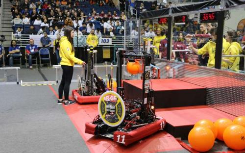 2019 SBPLI Long Island Regional FIRST Robotics Competition #1 Day 2